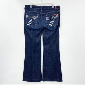 7FAM Dojo Flare Wide Leg Jeans